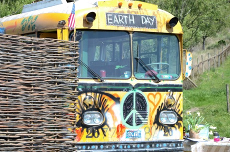 Earth Day Bus