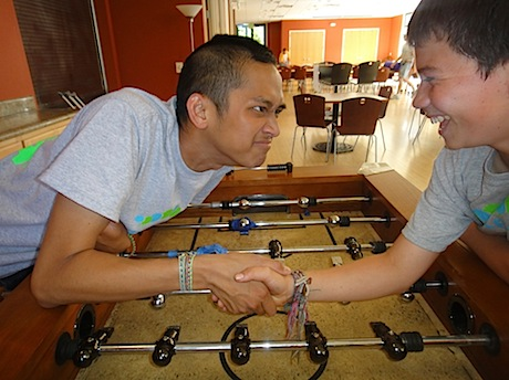 Foos Ball Face Off